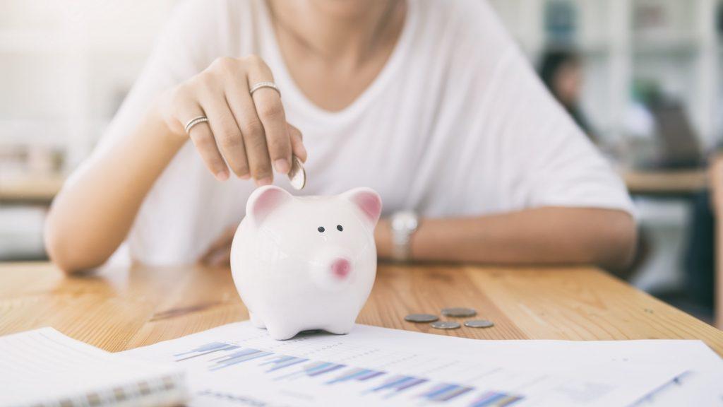 Money Saving pig